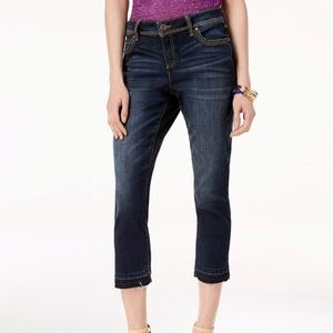 INC Straight-Leg Cropped Jeans